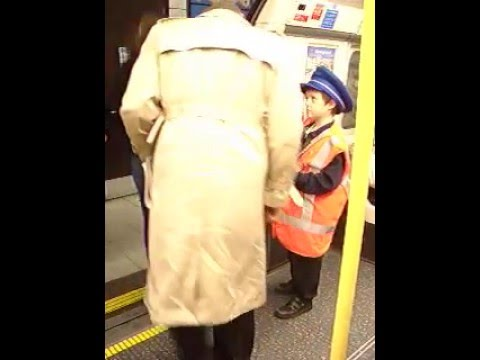 Is this the youngest London tube worker on the network?