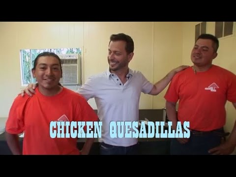 CHICKEN QUESADILLAS: Big Meals, Small Places with Sal Governale and Richard Christy