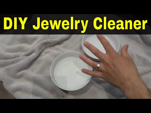 Easy DIY Jewelry Cleaner-Tutorial-Natural Solution