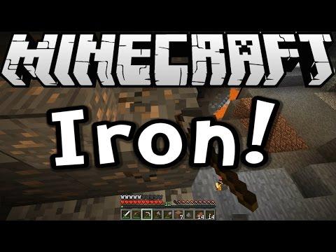 Minecraft 1.8 Tutorial - Iron Hardware! (Survive & Thrive S8E05)
