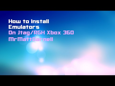 How to Install Emulators Xbox 360 (RGH/JTAG)