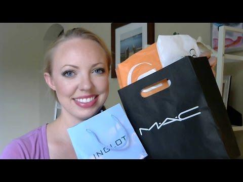 BIRTHDAY HAUL: Makeup from MAC, ULTA, and NYC!