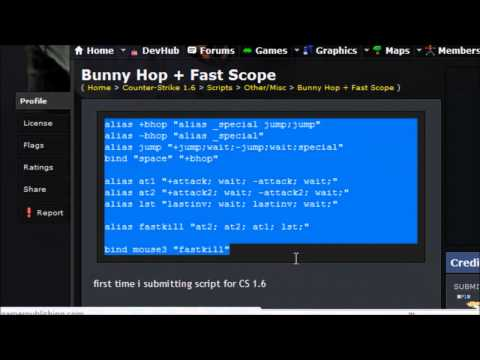 How to Install Cs 1 6 Scripts - playithub com