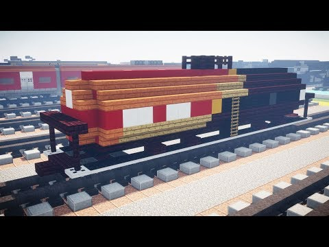 Minecraft Norfolk Southern Safety Train Tank Car Tutorial