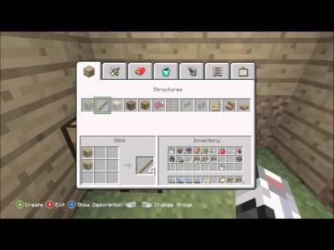 Minecraft Xbox 360 1.0.1 #83 - NPC Village Breeding / Farming / Spawning Tutorial