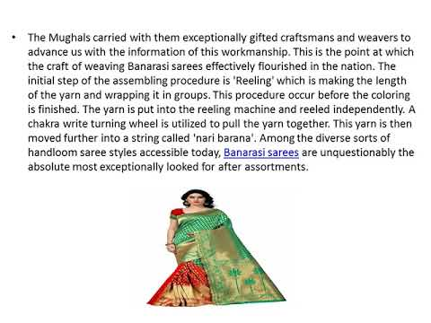 Buy The Latest Collection Of Banarasi Silk Sarees Online In India