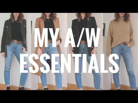 MY AW FASHION ESSENTIALS TRY-ON & GUCCI REVEAL | FALL CAPSULE WARDROBE 🍂🛍 CIARA O DOHERTY