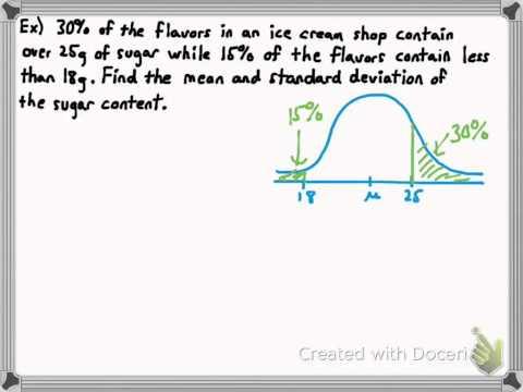 Using Cumulative Probabilities (Normal Distribution 5)