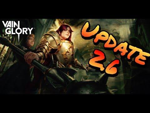 Vainglory - Update 2.6 New Skins Hero and map design