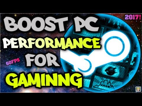 BOOST YOUR PC PERFORMANCE FOR GAMING! | 60FPS IN ALL GAMES! | MAKE PC RUN LIKE NEW! [2017 TUTORIAL!]