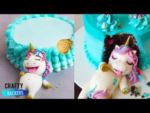 10 MOST CREATIVE CAKE DECORATING IDEAS   CREATIVE CAKE IDEAS   FOOD HACKS