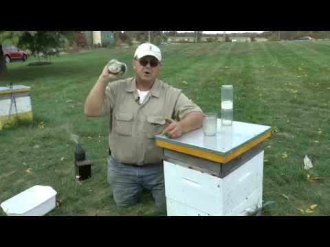 Alcohol Wash for Mite Control