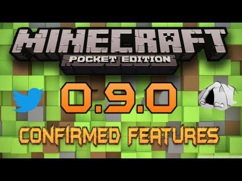 0.9.0 & 0.8.0 Update Features - Minecraft Pocket Edition