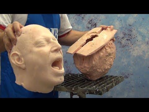 Casting a Self-Skinning Foam Head With TC-284 Foam