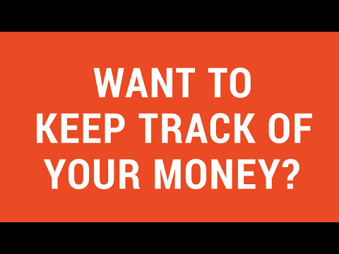 Tip 101: Keeping track of your money