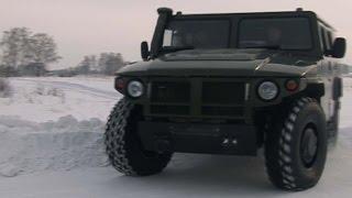 Тест-драйв ГАЗ 2330Тигр Программа об автомобилях БЕЛАЯ ПОЛОСА
