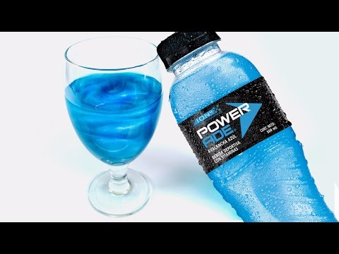 DIY Sparkle Powerade ! With Fanta Drink | MonsterKids