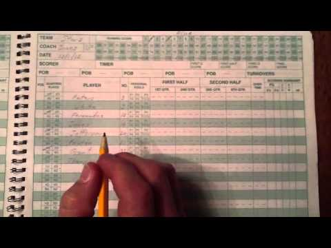 How to Score - Using the CLBL Scorebook