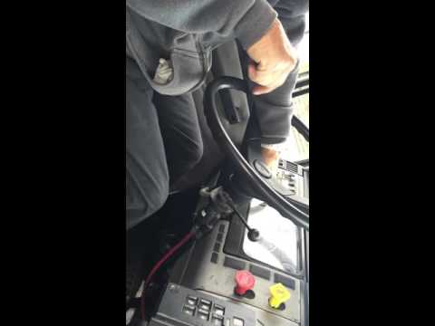 Class a cdl in cab inspection and air brake test (New York)