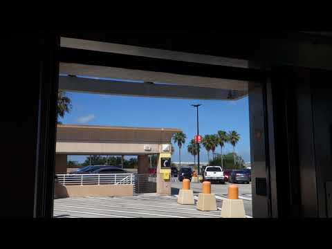 Schindler? Hydraulic Elevator @ International Plaza Parking Garage, Tampa, FL, USA.