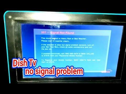 Dish Tv Setopbox no Signal Problem Solve, Signal install in .hindi.