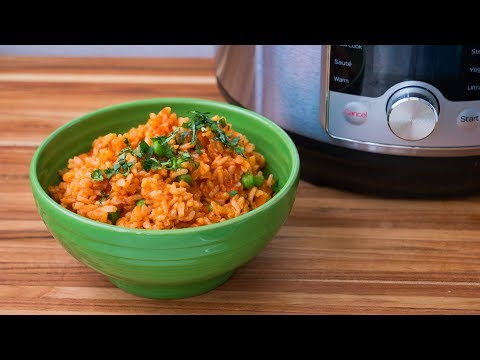 Pressure Cooker Mexican Brown Rice