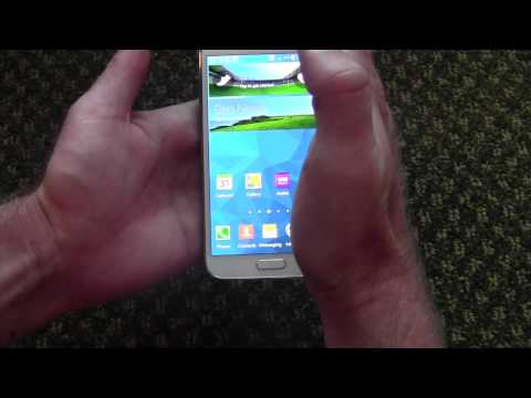 How to take screen shots on a Galaxy S5