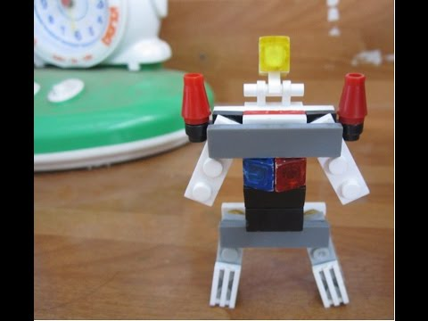 How to build lego transformer. VERY EASY (Spaceship-Transfomer)