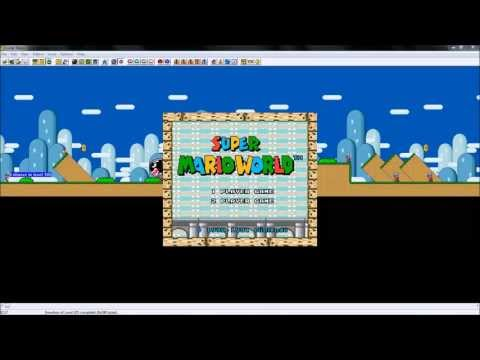 Super Mario World Hacking Tutorials - Custom Title/Intro