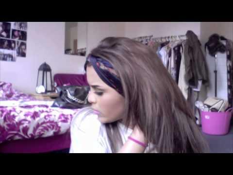 How to: scarf to headband
