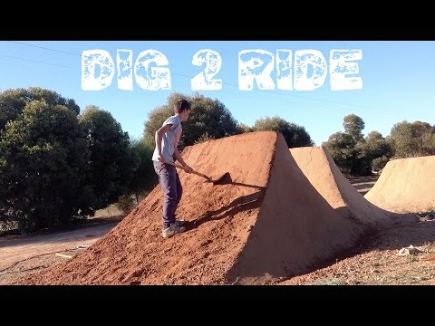 Backyard Dirt Jumps