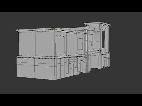 Modeling Modular buildings 3ds max tutorial part-1