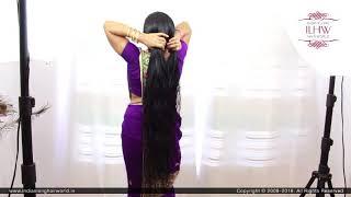 ASMR Wet Hair Combing | Wet Hair Styling | Wet Hair Braiding | Indian Hair Style | Hair Care Routine