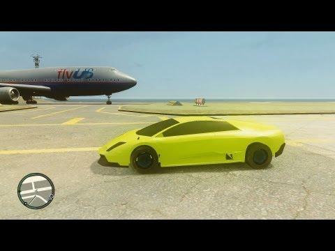 GTA 4 ZModeler Car Mod Tutorial - 1 Overview Lime Lamborghini COMPLETE