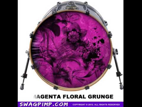 The Coolest Drum Head Decals Ever!!