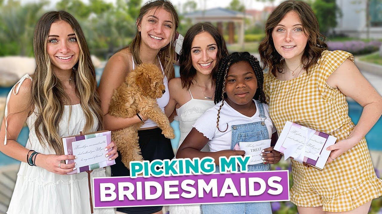 Picking My BRIDESMAIDS | Bridesmaids Proposal Boxes & Wedding Venues