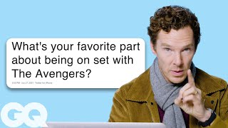Benedict Cumberbatch Goes Undercover on the Internet   GQ