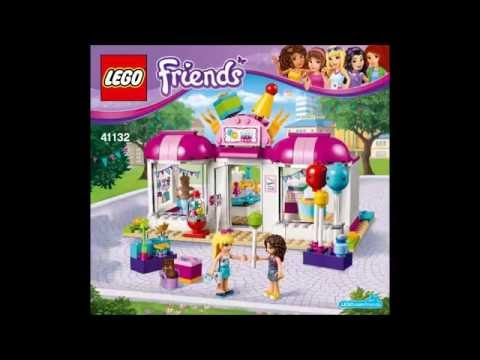 Instructions On How To Build Lego Friends Stables