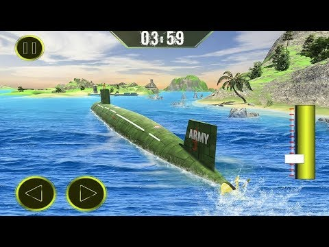 US Army Transporter Submarine Driving Sim (by Crazy Neuron Studio) Android Gameplay [HD]