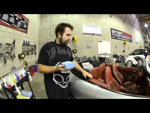 Leather Cleaning & Leather Conditioning How To Leather Cleaner -Chemical Guys