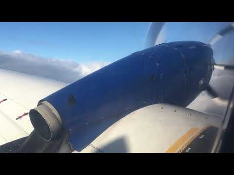 Eagle Air flight 732 to Gjögur take off from Reykjavik Domestic Airport
