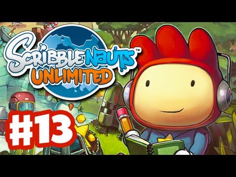 Scribblenauts Unlimited - Gameplay Walkthrough Part 13 - Sir Guillemet's Castle (PC, Wii U, 3DS)