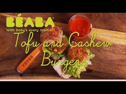 Beaba Babycook Recipe - Tofu & Cashew Burgers - Direct2Mum