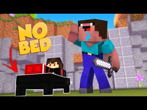 INSANE NO BED CHALLENGE! (BEDWARS CHALLENGE)