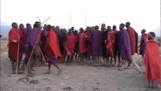 Maasai Dancing and Jumping