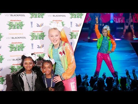 Greers meet JoJo Siwa Backstage!