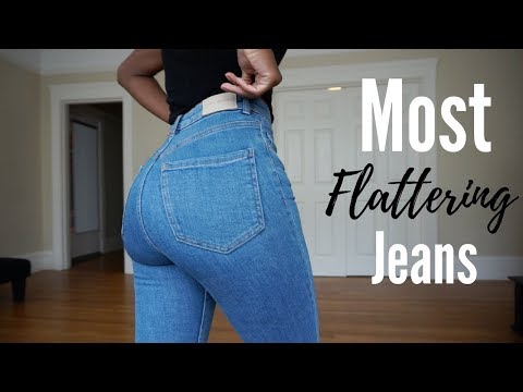 JEANS THAT MAKE YOUR BUTT LOOK GOOD l Brittany Hayles