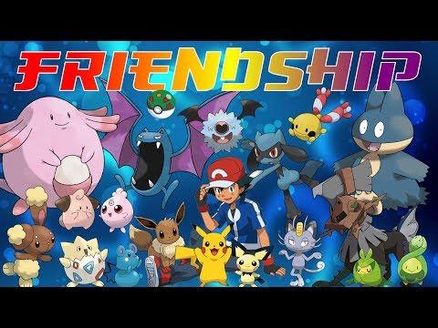 Pokémon That Evolve By Friendship