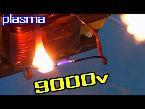 How To Make Plasmatic Lighter [Circuit]. Inverter Battery to high voltage. M20