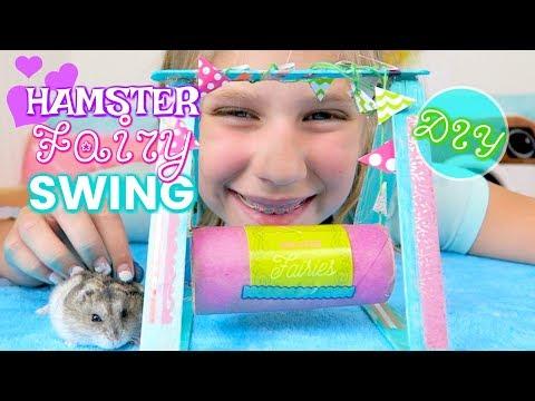 Hamsters Fairy Swing DIY